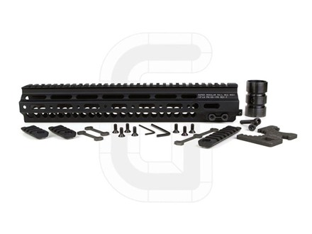 Geissele Super Modular Rail MK2 Free Float Handguard AR-15 Aluminum Black 13&quot;
