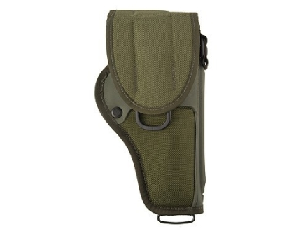 "Bianchi UM84-R Universal Military Holster Medium, Large Frame Revolver 4"" Barrel Nylon Olive Drab"