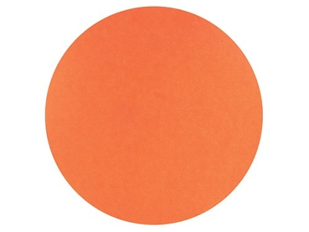 "Hoppe's Bullseye Target Dots 3"" Self-Adhesive Orange Package of 25"