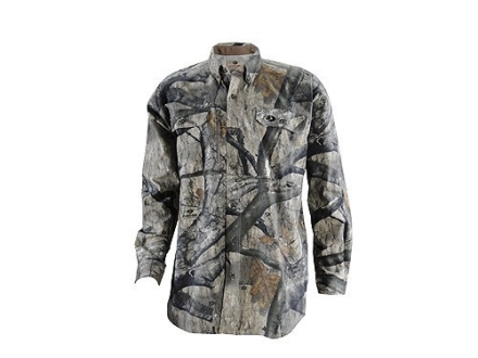 Russell Outdoors Mens Scent-Stop Pro Shirt Long Sleeve Cotton Polyester Blend