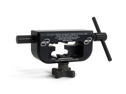Maryland Gun Works Front & Rear Sight Tool Sig