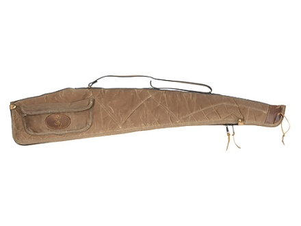 Browning Santa Fe Scoped Rifle/Shotgun Gun Case 48&quot; Waxed Cotton Canvas Tan