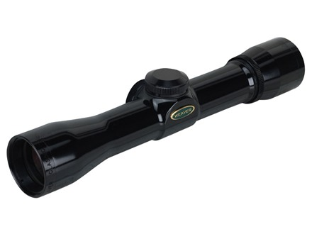 Weaver Classic Pistol Scope 4x 28mm Dual-X Reticle Gloss