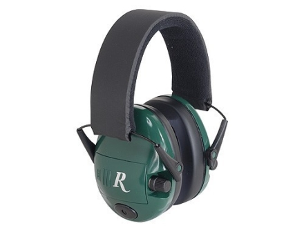 Remington Electronic R2000 Earmuffs (NRR 23 dB) Green
