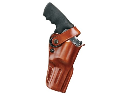 "Galco D.A.O. Dual Action Outdoorsman Belt Holster Right Hand Ruger Super Redhawk Alaskan 2.5"" Barrel Leather Tan"