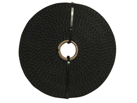 The Outdoor Connection TacWeb Multi-Purpose Tactical Webbing 10 Yard Roll Polypropylene Black
