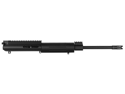 "DPMS LR-308 Flat-Top Upper Assembly 308 Winchester 1 in 10"" Twist 16"" Barrel Chrome Moly Matte with Free Float Handguard, Flash Hider"