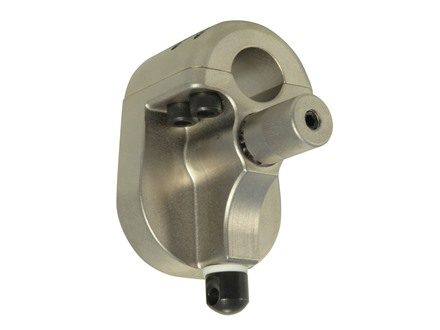 "Accuracy Systems Adjustable Gas Block Mini 14 Pre-580 Series 0.562"" Inside Diameter Steel Metallic Gray"