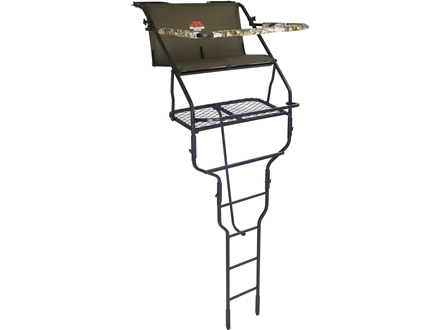 Millennium Treestands L-200 18' Double Ladder Treestand Steel Green