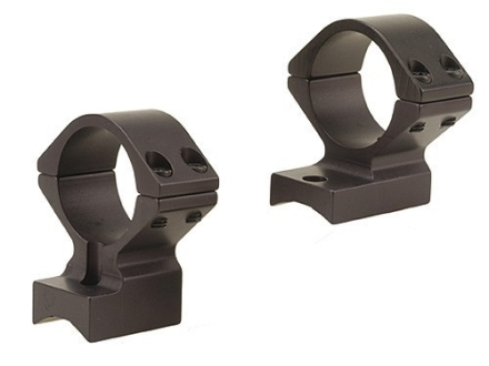 Talley Lightweight 2-Piece Scope Mounts with Integral 1&quot; Rings 98 Mauser Large Ring Matte Low