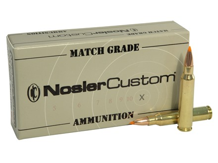 Nosler Match Grade Ammunition 223 Remington 60 Grain Ballistic Tip Box of 20