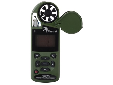 Kestrel 4000NV Electronic Hand Held Weather Meter with Bluetooth 