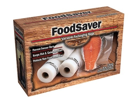 FoodSaver Gamesaver 8&quot; Vacuum Packaging Bags 20&#39; Roll Pack of 2