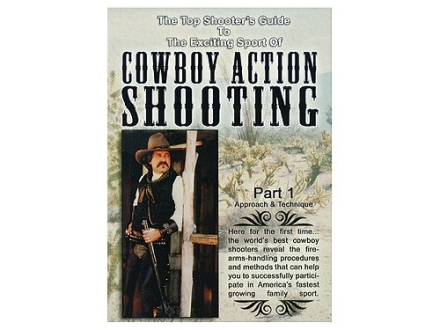 Gun Video &quot;The Exciting Sport of Cowboy Action Shooting&quot; DVD