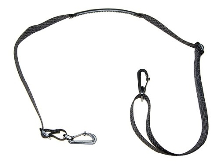 "Wilderness Tactical Shoulder Strap for Safepacker Holster 1"" Nylon Black"