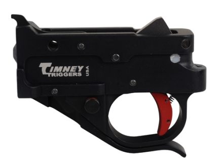 Timney Trigger Guard Assembly Ruger 10/22 2-3/4 lb Aluminum Red