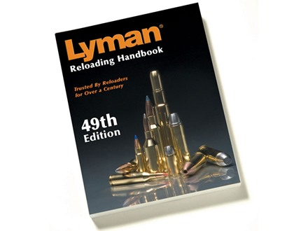 "Lyman ""Reloading Handbook: 49th Edition"" Reloading Manual Softcover"