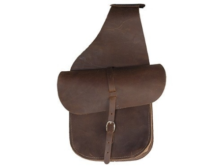Oklahoma Leather Saddle Bags Leather Brown