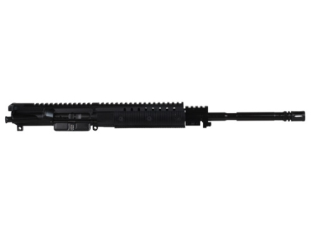 "CMMG AR-15 Revolution M4 LE A3 Flat-Top Upper Assembly 5.56x45mm NATO 1 in 9"" Twist 16"" Barrel WASP Melonite Finish Chrome Molly Matte with Revolution Modular Rail Handguard, Flash Hider"