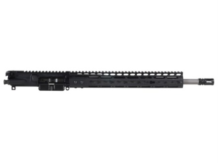 Noveske AR-15 Rogue Hunter A3 Flat-Top Upper Assembly 6.8mm Remington SPC II 1 in 12&quot; Twist 16&quot; Barrel Stainless Steel with NSR-13.5 Free Float Handguard, Flash Hider
