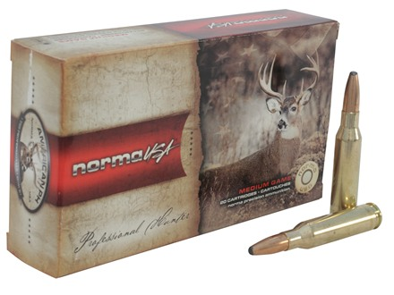 Norma USA American PH Ammunition 7mm-08 Remington 156 Grain Oryx Protected Point Box of 20