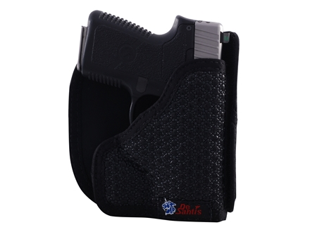 DeSantis Super Fly Pocket Holster Ambidextrous Smith & Wesson Bodyguard 380 Nylon Black