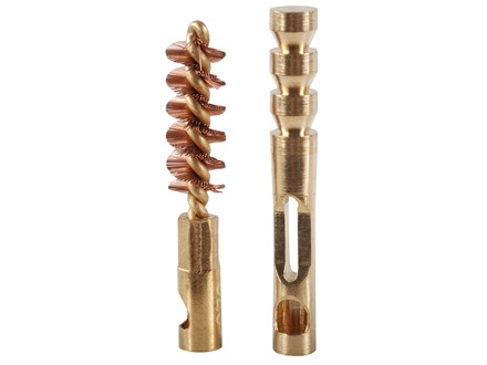 Real Avid ZipWire Rifle Cleaning Brush and Jag .270/7mm Caliber Brass Combo Pack