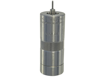 L.E. Wilson Stainless Steel Bushing Neck Sizer Die 6mm XC