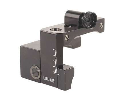 Williams FP-94 BBSE Receiver Peep Sight Winchester Big Bore Angle Eject .307 and .356 Winchester Aluminum Black