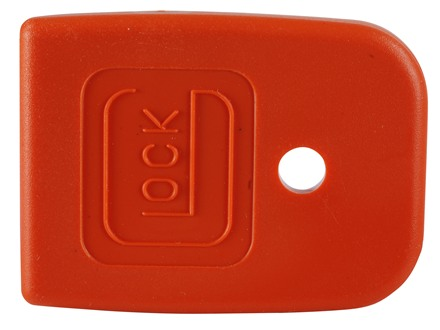 Glock Magazine Base Pad Glock 20, 21, 29 Polymer Orange