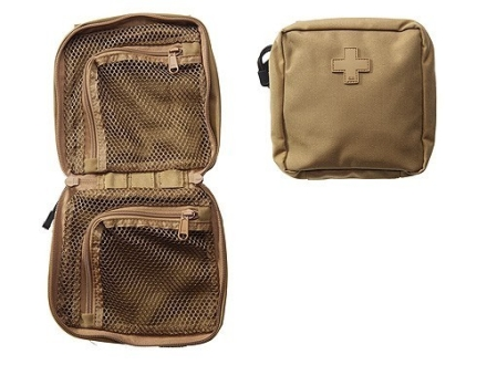 "5.11 Medical Pouch 6"" x 6"" Nylon Flat Dark Earth"