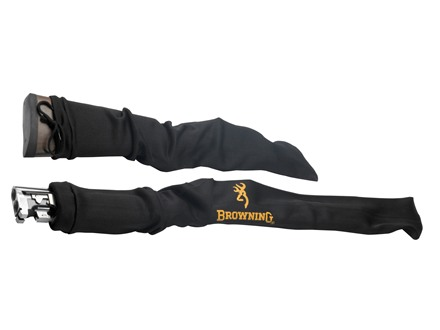 Browning VCI Gun Sock Two Piece Black with Browning Logo