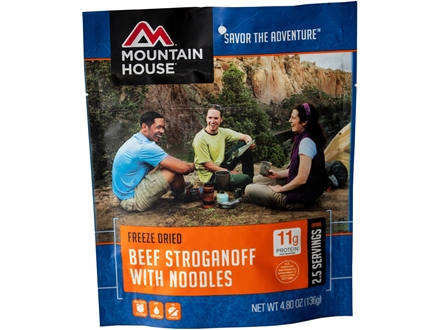 Mountain House Beef Stroganoff Freeze Dried Meal 4.8 oz