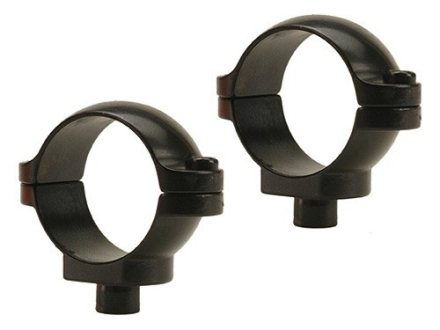 "Leupold 1"" Quick-Release Rings Gloss Low"