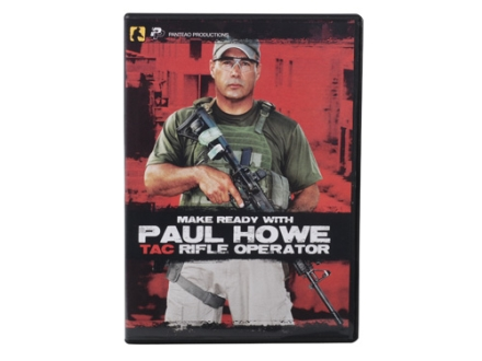 Panteao Make Ready with Paul Howe: Tac Rifle Operator DVD