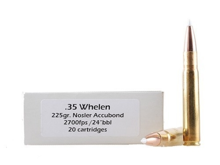 Doubletap Ammunition 35 Whelen 225 Grain Nosler AccuBond Spitzer Box of 20
