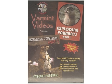 "Varmint Videos ""Exploding Varmints Part 1 and 2"" DVD"