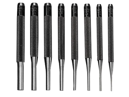 General Tool Drive Pin Punch Set 8-Piece Steel