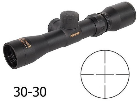 Konus Pistol Scope 2-8x 28mm 30-30 Reticle Matte