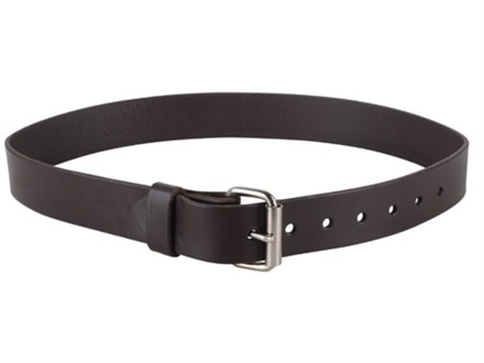 Lenwood Leather GP Belt 1.5&quot; Steel Buckle Leather