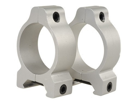 Leupold 30mm Rifleman Vertical Split Rings Weaver-Style Medium Silver