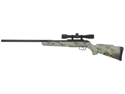 Gamo Camo Rocket Air Rifle 177 Caliber Camo Stock Blue Barrel with Gamo Airgun Scope 4x 32mm Matte