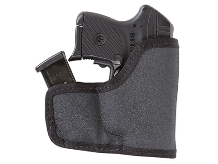 Tuff Products Pocket-Roo Pocket Handgun/Magazine Holster Ambidextrous Ruger LCP, KAHR P380, Ketlec P32, P32AT, Colt Pony Laminate Black