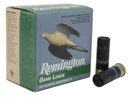 Remington Game Load Ammunition 16 Gauge 2-3/4&quot; 1 oz #7-1/2 Shot Box of 25