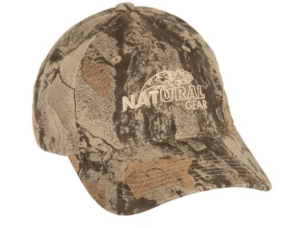 Natural Gear 6 Panel Cap Cotton