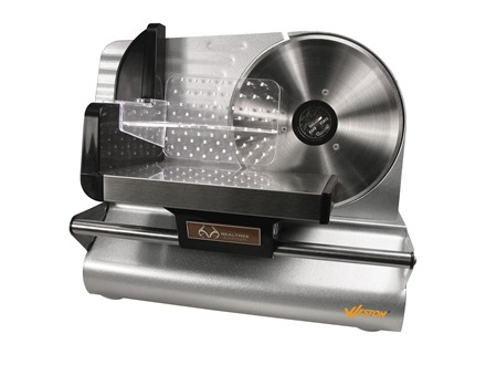 "Team Realtree 7-1/2"" Meat Slicer Stainless Steel"