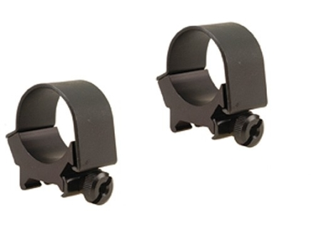 Weaver 30mm Top-Mount Rings Matte Low