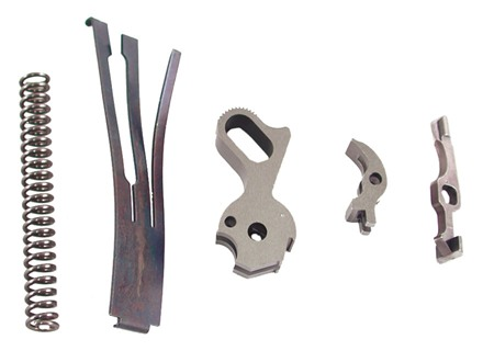 Cylinder & Slide Tactical Match Trigger Pull 5-Piece Set 1911 Government, Commander 4-1/2 lb Steel in the White