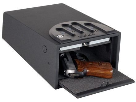 GunVault Standard MiniVault Personal Electronic Safe 8&quot; x 5&quot; x 12&quot; Black