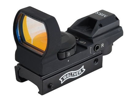 Walther MRS Multi-Reticle Reflex Red Dot Sight with Integral Weaver-Style Mount Matte